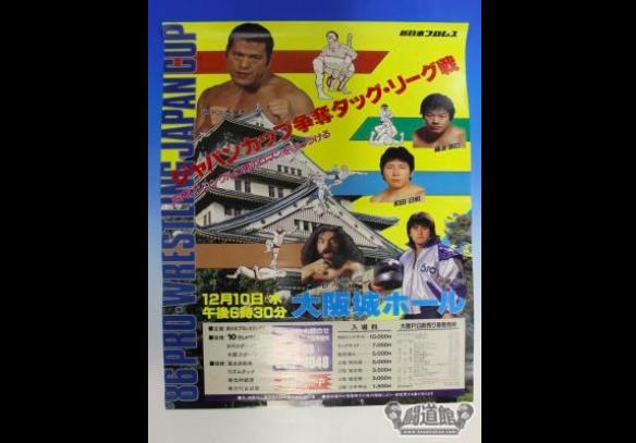 '86ジャパン・カップ争奪タッグリーグ戦
