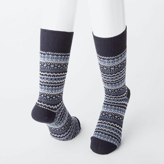 ヒートテック 靴下 フェアアイルソックス