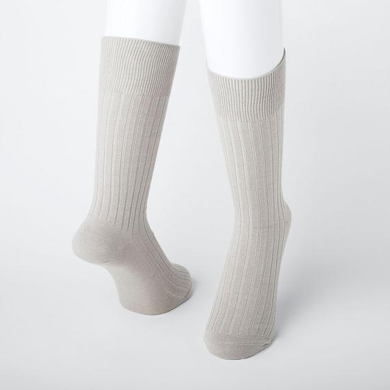 ヒートテック 靴下 ワイドリブソックス