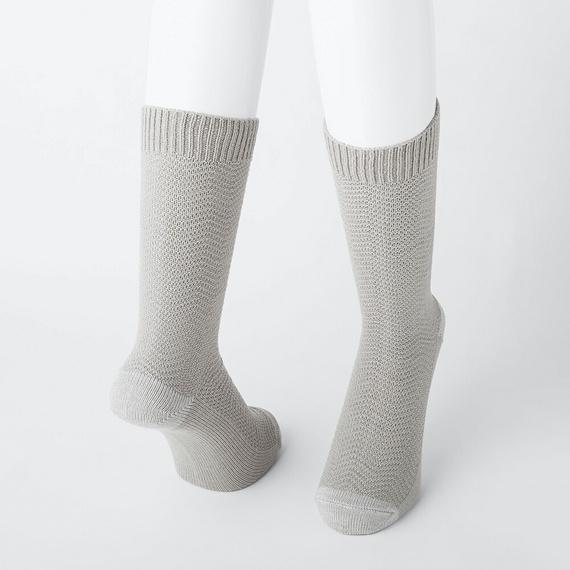 ヒートテック 靴下 ワイドヘリンボーンソックス