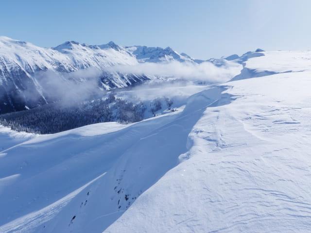 エアリズム 冬山